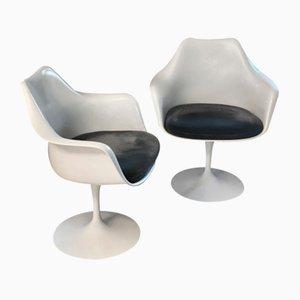 Chaises Tulip Vintage par Eero Saarinen pour Knoll Inc. / Knoll International, Set de 2