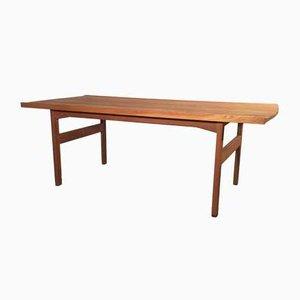 Mid-Century Oak Coffee Table by Tove & Edvard Kindt-Larsen for Säffle Möbelfabrik