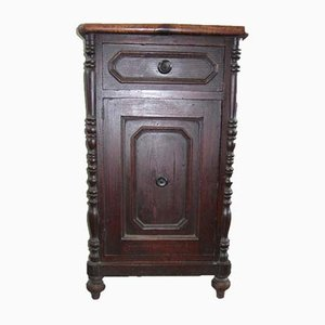 Antique Tuscan Rustic Nightstand