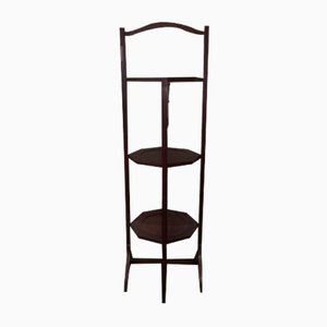 English Mahogany Side Table or Valet Stand