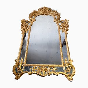 Antique Louis XVIII Style Mirror from André Mailfert