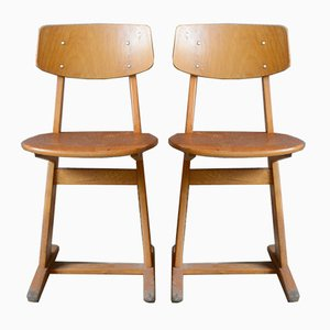 Adult-Sized Chairs from Casala, 1960s, Set of 2