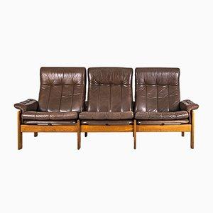 Skandinavisches Teak Sofa von Sven Ellekaer für Skippers Mobler A / S Design, 1980er
