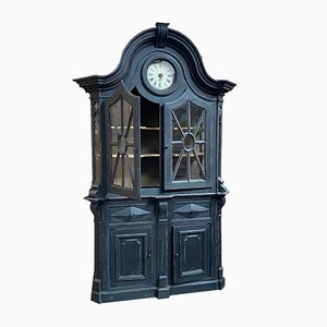Cabinet with Clock, Early 20th Century