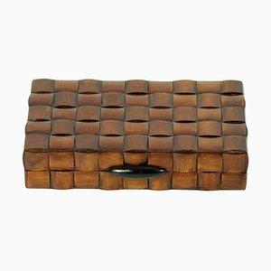 Mid-Century Italian Vintage Wood Trinket Box