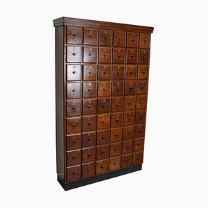 Large Dutch Oak Apothecary Cabinet, 1920s