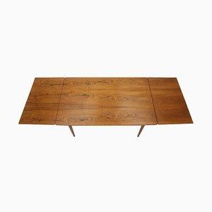 Nr. 51 Teak Extendable Dining Table by Omann Jun, Denmark, 1960s