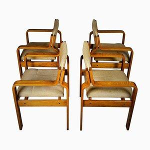 Esszimmerstühle von Ludvik Volak, 1960er, Set of 4
