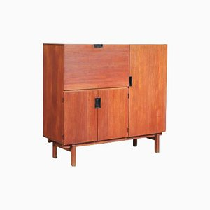 Wooden Bar Cabinet by Cees Braakman for Pastoe, The Netherlands, 1950s