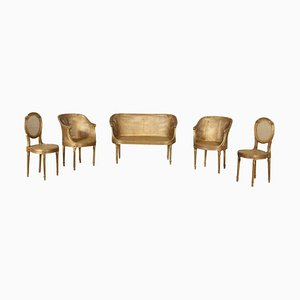 Parlor In Neo-classical Golden