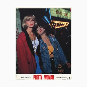 Pretty Woman, Julia Roberts & Laura San Giacomo, Lobbycard, 1990s