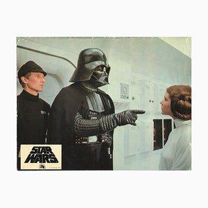 Star Wars, Leia Organa und Darth Vader, Empfangskarte, 1977