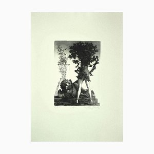 Leo Guide, Vespers, Etching on Paper, 1980s