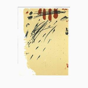 Antoni Tàpies, Komposition, Lithographie, 1968