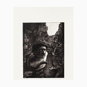 Piero Cesaroni, The Divine Comedy-Hell XXIV, Radierung, 1982