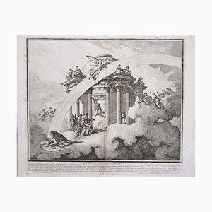 Louis Joseph Le Lorrain, Aids the Brave, Etchings, 1748