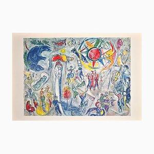 Marc Chagall, La Vie, Lithographie, 1968