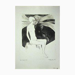 Leo Guida, The Sibyl, Radierung auf Papier, 1972