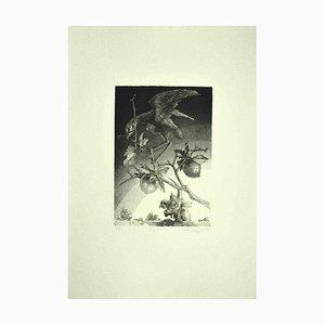 Leo Guida, The Guardian, Radierung auf Papier, 1986