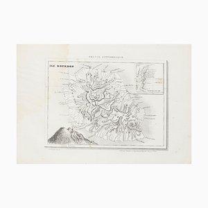 Unknown, Ile Bourbon, Etching, 19th Century