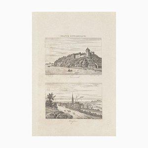 Unknown, Cityscapes, France Pittoresque, Radierung, 19. Jahrhundert