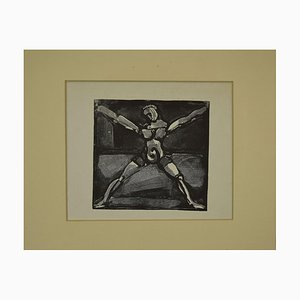 Georges Rouault, Circus Figure, Woodcut, Late 20th Century