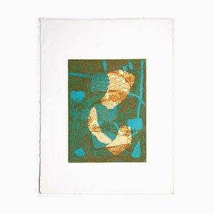 Unknown, Composition, Radierung auf Papier, 1950er