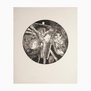 Gian Paolo Berto, Painter, Etching, 1974