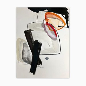 Irene Nelson, Quarantaine # 3, Peinture Abstraite, 2020