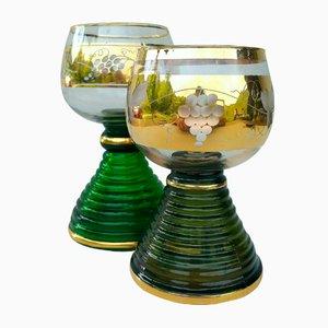 Vintage Music Weinglas von Reuge