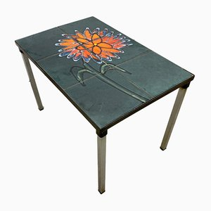 Green Tiled Coffee Table