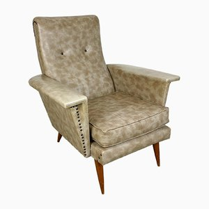 Leatherette Armchair
