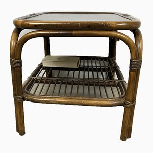 Rattan Coffee Table in Rohe Style