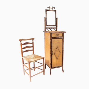 Victorian Bamboo Washstand from Dickins & Son