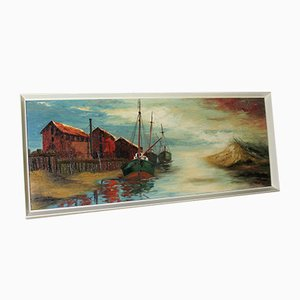 Herring Sheds Painting