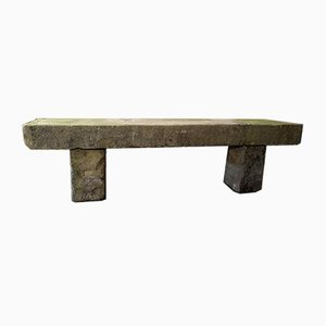 7ft Long Sandstone Garden Bench