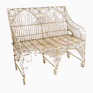 Wirework Garden Bench