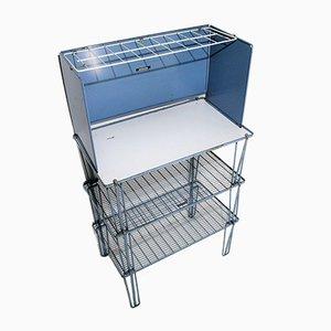 Blue Shelf Rack