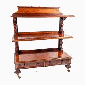 Mahogany Buffet Cart, 1860s