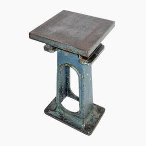 Small Industrial Cast Iron Table