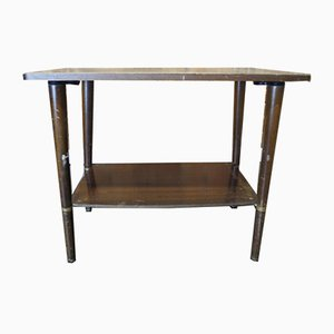 Mid-Century Wooden Coffee Table with Shelf by Ilse Möbel