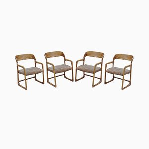 Mid-Century Lounge Chairs from Baumann, Set of 4