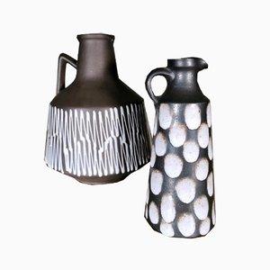 Pots en Céramique de Elma Keramik, Allemagne, 1958, Set de 2