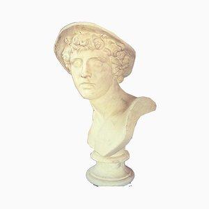 Plaster Bust of Mercury