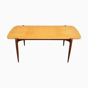 Bicolor Maple & Teak Coffee Table, 1950s
