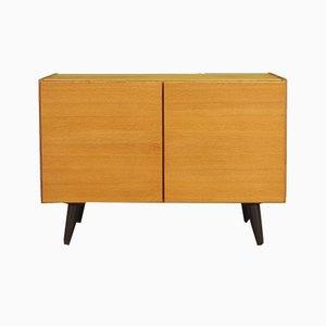 Mid-Century Danish Ash Veneer Cabinet, 1970s