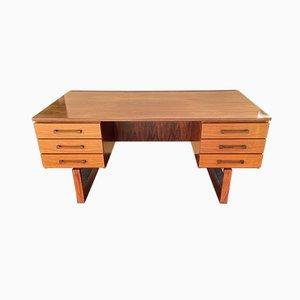 Santos Rosewood Desk by Thorben Valeur and Henning Jensen, 1960s