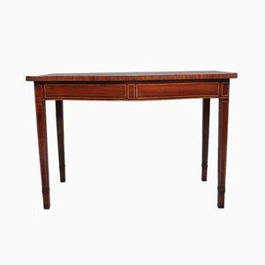 Mahogany Serpentine Serving Table, 1700s
