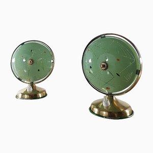 Lampade da tavolo Space Age, anni '50, set di 2