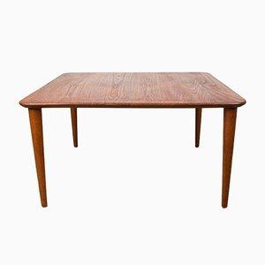 Tavolino da caffè in teak di Peter Hvidt & Orla Mølgaard-Nielsen per France & Søn / France & Daverkosen, Danimarca, anni '60